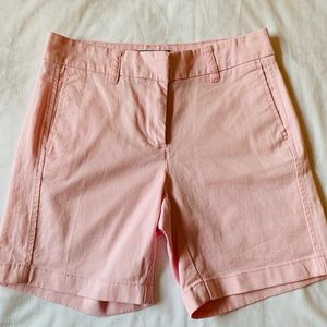 J. Crew Light Pink Chino Shorts Like New Size 00